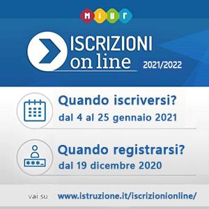 iscrizioni classi prime 2021-2022