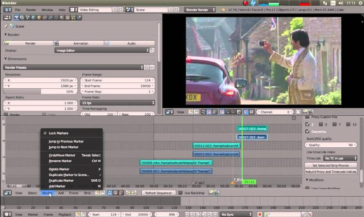 CORSO DI VIDEO EDITING IN BLENDER